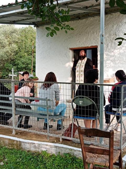 ΜΑΧΑΙΡΑΣ: Γιόρτασε το εκκλησάκι του Αγίου Δημητρίου στα Βρίστιανα - Φωτογραφία 3