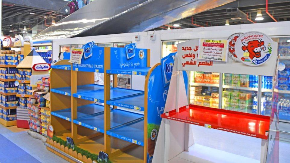 Το Κουβέιτ κάνει μποϊκοτάζ σε γαλλικά προϊόντα - Άδεια τα ράφια των συνεταιρισμών - Φωτογραφία 1