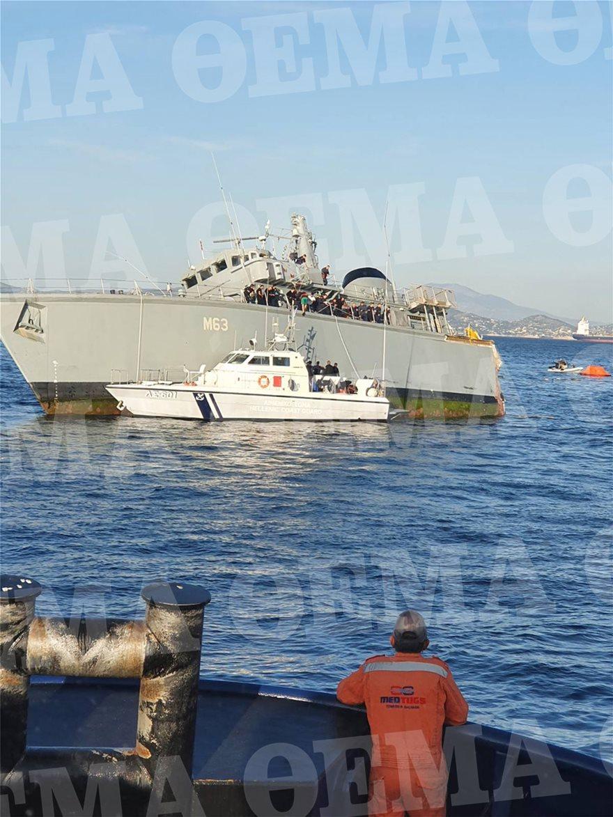 Ψάχνουν πώς έγινε το ατύχημα με το «Καλλιστώ»: Σοκάρουν οι εικόνες με το πλοίο κομμένο στα δύο - Φωτογραφία 2