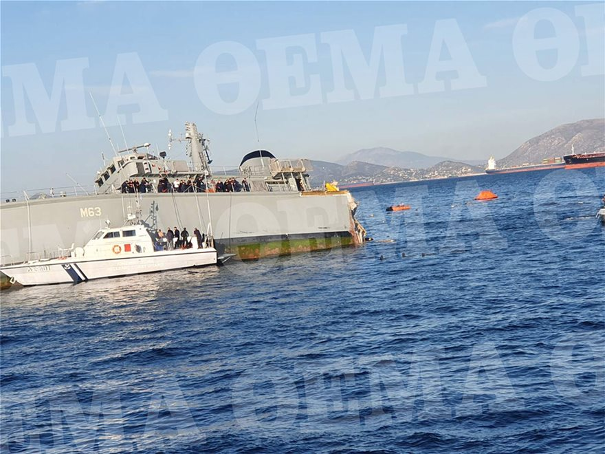 Ψάχνουν πώς έγινε το ατύχημα με το «Καλλιστώ»: Σοκάρουν οι εικόνες με το πλοίο κομμένο στα δύο - Φωτογραφία 3