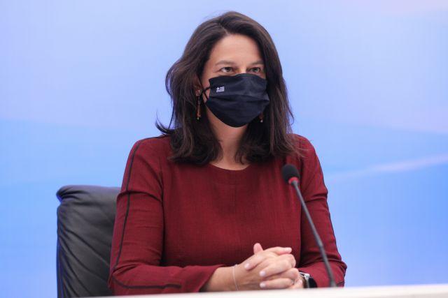 Θετική στον κορονοϊό η Υπουργός Παιδείας - Φωτογραφία 1