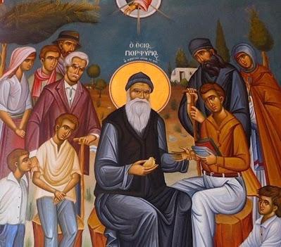 Ο Άγιος Πορφύριος ο Καυσοκαλυβίτης, ένας σύγχρονος άγιος ( † Αρχιμ. Θεόκλητου Καρακουλίδη) - Φωτογραφία 1