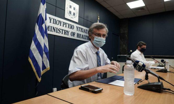 """Τσιόδρας: """"Ποτέ άλλοτε στη σύγχρονη Ελλάδα τόσος κόσμος σε ΜΕΘ"""" – Ποια είναι η «κόκκινη γραμμή» στο σύστημα Υγείας - Φωτογραφία 1"""