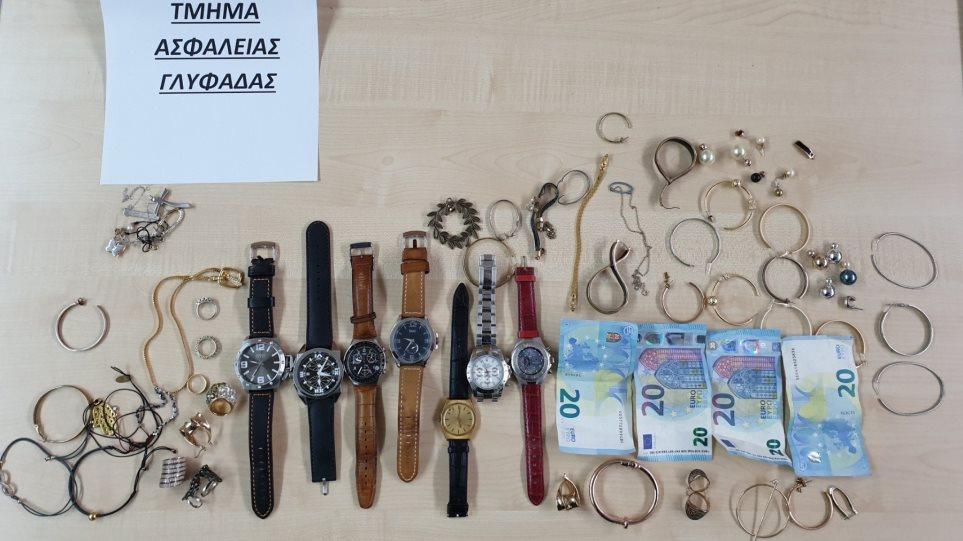 Σπείρα ξάφριζε κοσμήματα από σπίτια σε Γλυφάδα και Αργυρούπολη - Φωτογραφία 1