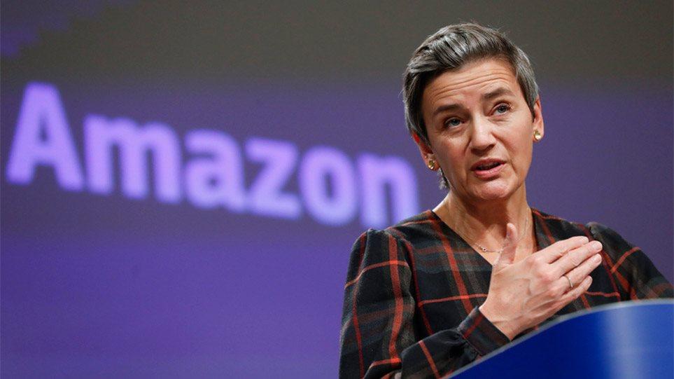 Μαργκρέτε Βεστάγκερ: Η «Σιδηρά Κυρία» που τα έβαλε και με την Amazon - Φωτογραφία 1