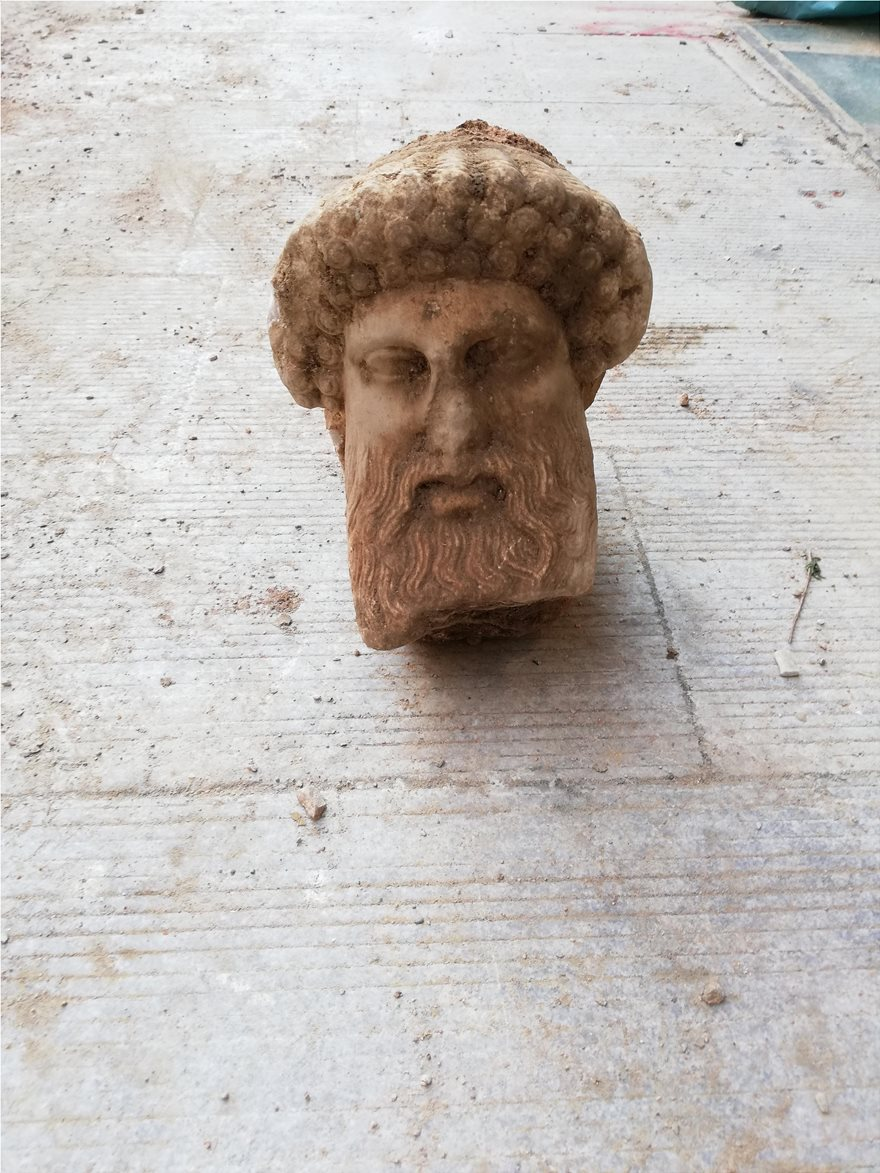 Πρωτότυπο έργο του 4ου αιώνα π.Χ. η κεφαλή της Αιόλου - Φωτογραφία 2
