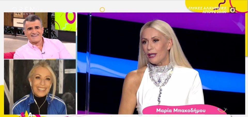 Μαρία Μπακοδήμου: Τι της ζήτησε ο Τρύφωνας Σαμαράς για το αποψινο live του  J2US - Φωτογραφία 1