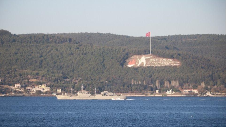 Τουρκία: Ελληνικό πολεμικό πλοίο δεν σήκωσε την τουρκική σημαία διασχίζοντας τα Στενά - Φωτογραφία 1