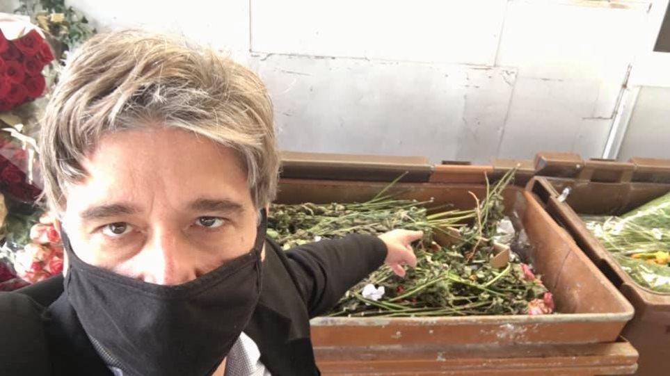 Lockdown - Κορωνοϊός: Σε απόγνωση οι ανθοπώλες και ανθοπαραγωγοί - «Βιώνουμε ξανά την καταστροφή» - Φωτογραφία 1