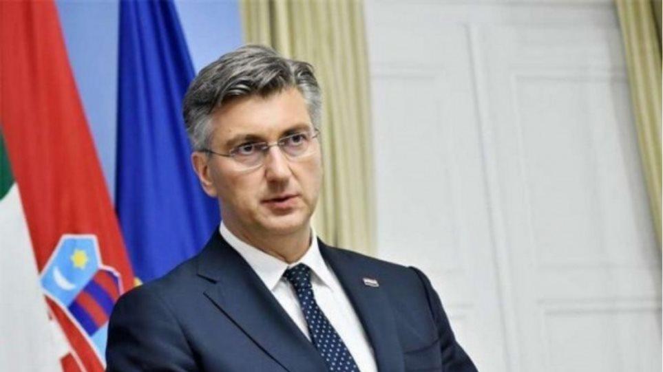 Σε καραντίνα ο Κροάτης πρωθυπουργός - Θετική η σύζυγός του - Φωτογραφία 1