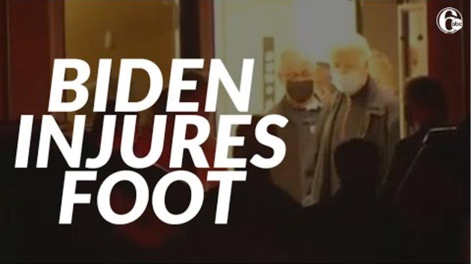 Τζο Μπάιντεν: Με κάταγμα μετά το ατύχημά του - Θα χρειαστεί νάρθηκα «μπότα» για εβδομάδες - Φωτογραφία 2