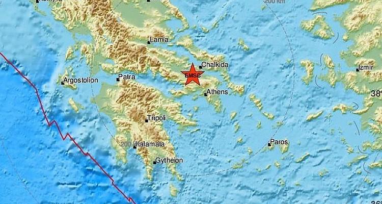 Σεισμός 4,5 Ρίχτερ στη Θήβα - Αισθητός και στην Αθήνα - Φωτογραφία 1