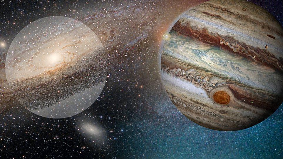 Σύζευξη Δία - Κρόνου: Το εντυπωσιακό φαινόμενο που έχει να συμβεί 400 χρόνια - Φωτογραφία 1