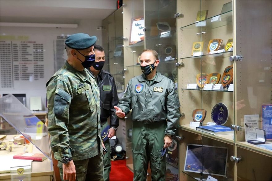 Σε Άραξο, Ανατολική Μακεδονία και Θράκη ο αρχηγός ΓΕΕΘΑ - Φωτογραφία 4