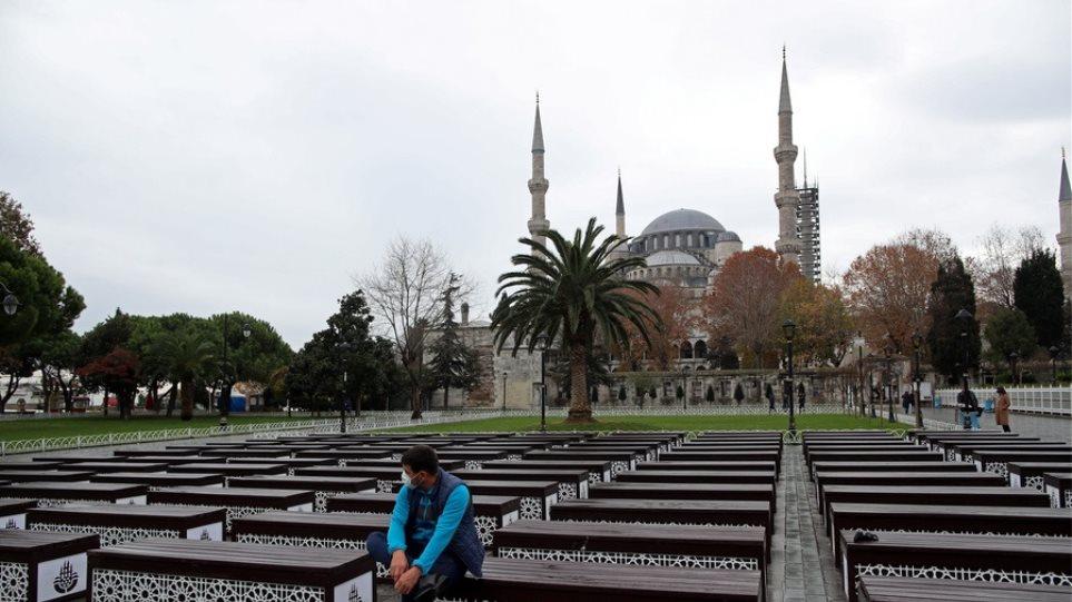«Σαρώνει» την Τουρκία ο κορωνοϊός: Στους 254 οι νεκροί, πάνω από 14.000 νέα κρούσματα - Φωτογραφία 1