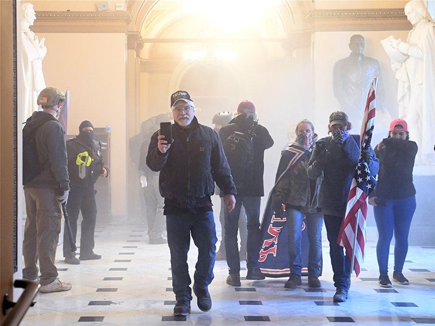 Χάος στις ΗΠΑ: Κυκλοφορούσε για βδομάδες στα social media το σχέδιο - Φωτογραφία 4