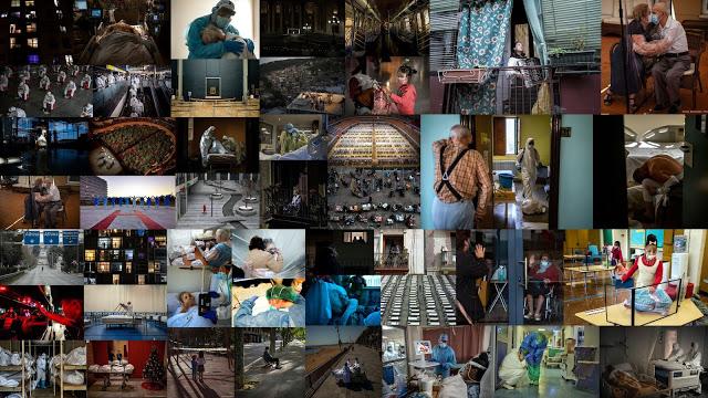 Η πανδημία του 2020 σε εικόνες - Φωτογραφία 1