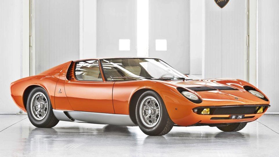 Η τελειότητα μέσα από τις… ατέλειες για τις αποκατεστημένες Lamborghini - Φωτογραφία 1