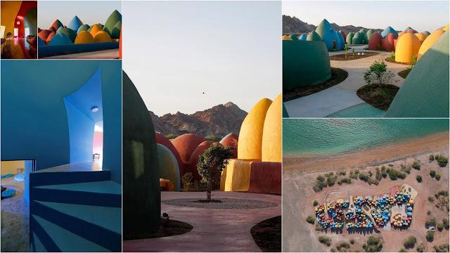 Το πολύχρωμο θολωτό χωριό στο Hormuz του Ιράν - Φωτογραφία 1