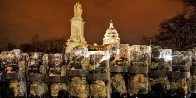 «Αστακός» η Ουάσιγκτον ενόψει ορκωμοσίας Μπάιντεν - Όρισε υπεύθυνο ασφαλείας τη Λίσα Μόνακο - Φωτογραφία 1