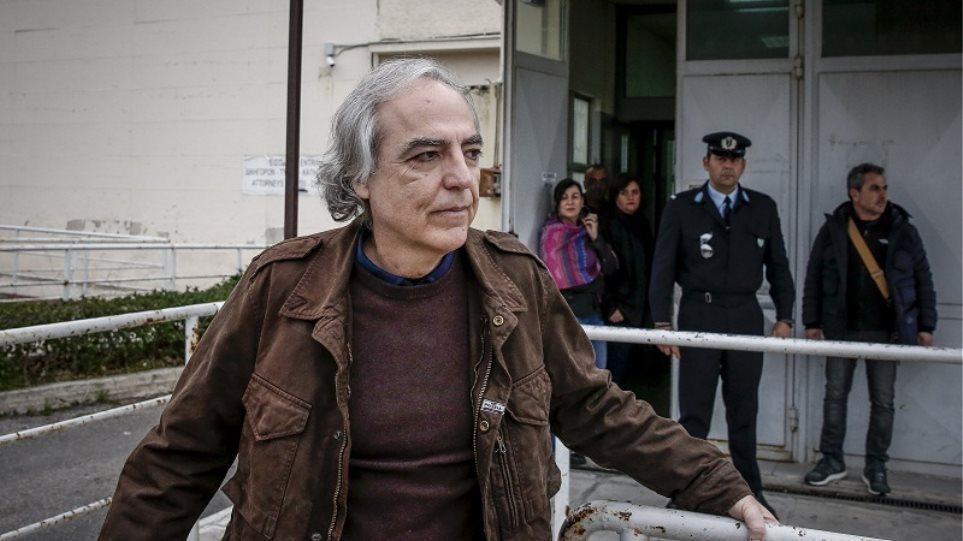 Λαμία: Εκτάκτως στο νοσοκομείο ο Κουφοντίνας - Φωτογραφία 1