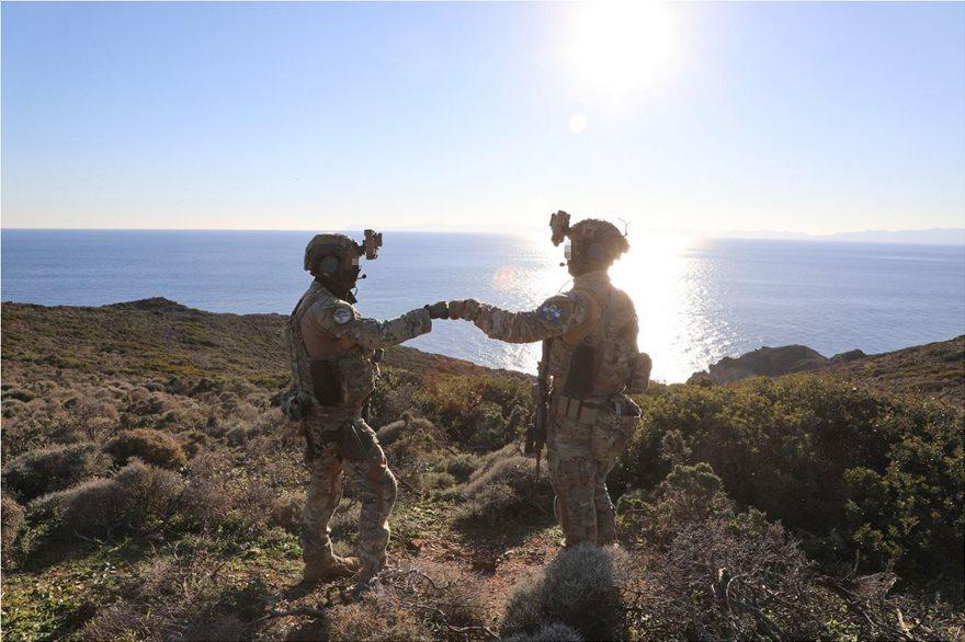 «Eddie's Odyssey»: Πολεμική άσκηση ειδικών δυνάμεων Ελλάδας - ΗΠΑ - Φωτογραφία 2