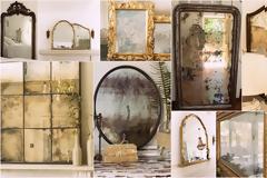 Τεχνικές Παλαίωσης σε Καθρέφτες