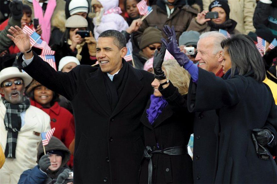 ΗΠΑ: Οι πιο... επεισοδιακές ορκωμοσίες Αμερικανών προέδρων και οι φράσεις που έμειναν στην ιστορία - Φωτογραφία 5