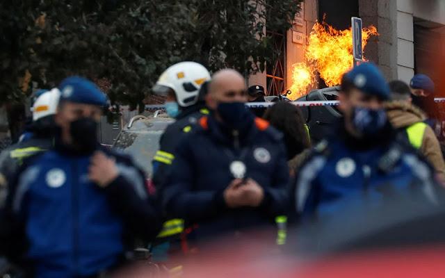 Τρεις νεκροί από την έκρηξη στη Μαδρίτη - Φωτογραφία 1