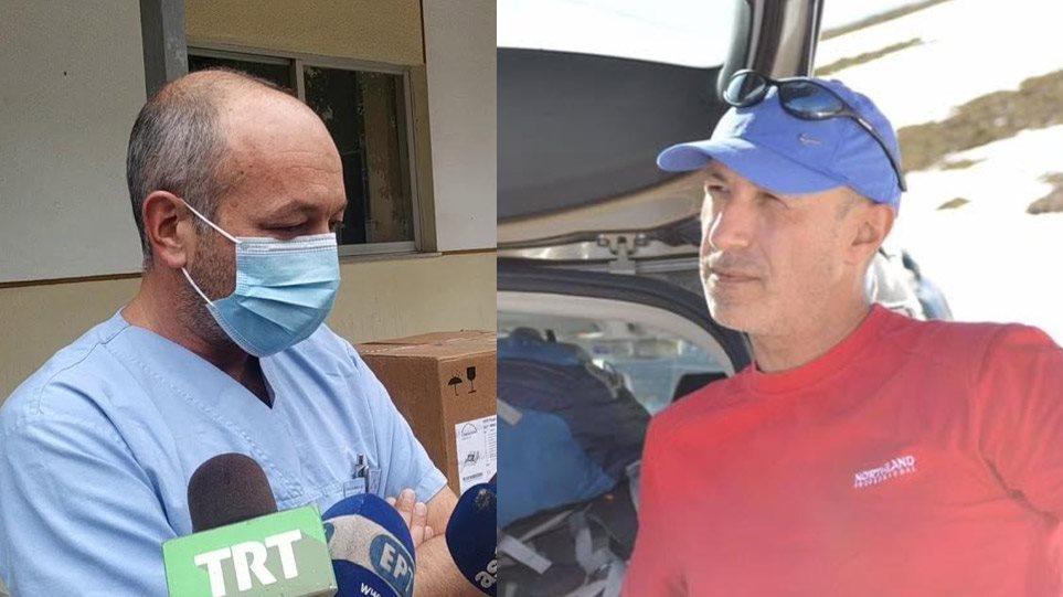 Όλυμπος : Αυτοί είναι οι δύο γιατροί που έχασαν τη ζωή τους - Φωτογραφία 1
