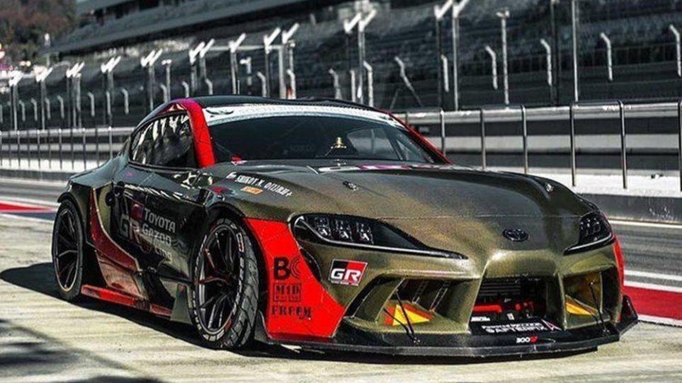 Toyota GR Supra drift 1000ps - Φωτογραφία 1
