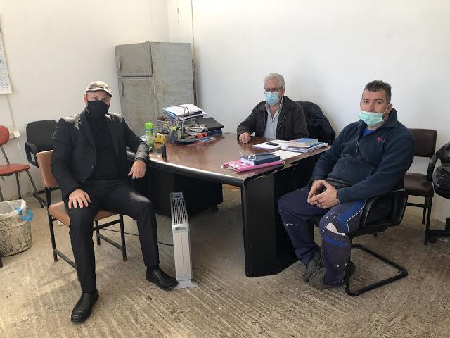 Επισκέψεις του Εντεταλμένου Συμβούλου, Μιχάλη Γούδα στο Δρυμό, τη Βόνιτσα, το Άκτιο και την Πάλαιρο Αιτωλοακαρνανίας - Φωτογραφία 2