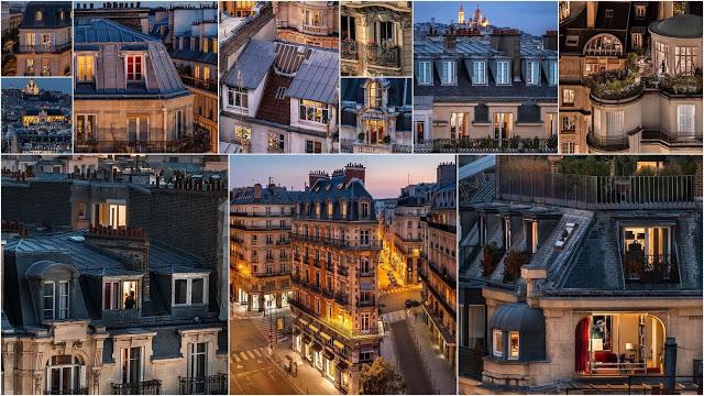 Οι στέγες του Παρισιού μέσα από τον φακό του Raphael Metivet  Haussmann Georges-Eugène - Φωτογραφία 1