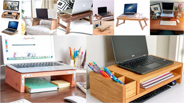 DIY Κατασκευές σταντς γραφείου για laptop - Φωτογραφία 1