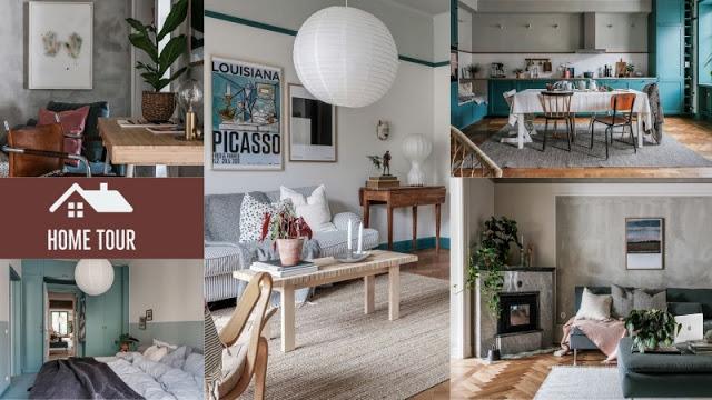 Ένα εντυπωσιακό διαμέρισμα διακοσμημένο με βάση το Πετρόλ - Φωτογραφία 1