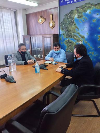 Δήμος Πύργου: Συνάντηση με τον Διευθύνοντα Σύμβουλο του ΟΣΕ. - Φωτογραφία 1
