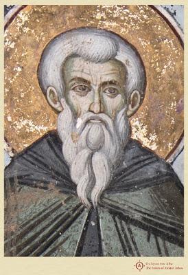 Άγιος Ευθύμιος, κτήτορας της μονής Ιβήρων (†1028) / Saint Euthymios, founder of Iviron monastery (†1028) - Φωτογραφία 2