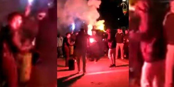 Απίστευτες εικόνες: Στους δρόμους οι καρναβαλιστές παρά το lockdown. Βούλιαξε το κέντρο της Ξάνθης(βίντεο) - Φωτογραφία 1