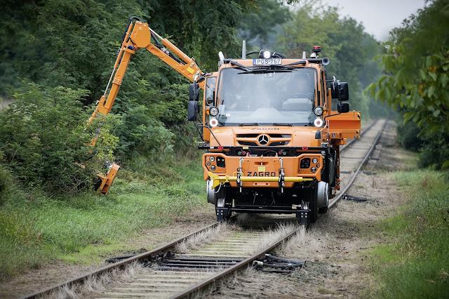 Unimog rail road – ένα «πολυεργαλείο» στον σιδηρόδρομο. Δείτε video και εικόνες. - Φωτογραφία 2