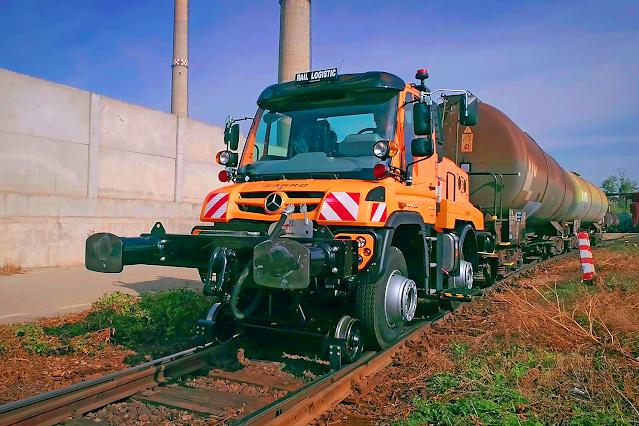 Unimog rail road – ένα «πολυεργαλείο» στον σιδηρόδρομο. Δείτε video και εικόνες. - Φωτογραφία 3