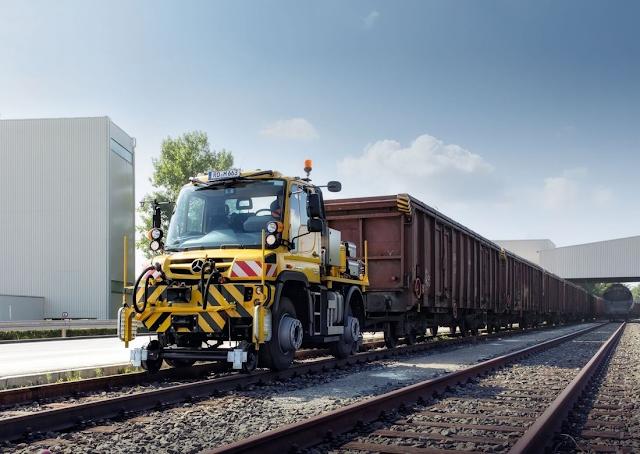 Unimog rail road – ένα «πολυεργαλείο» στον σιδηρόδρομο. Δείτε video και εικόνες. - Φωτογραφία 5