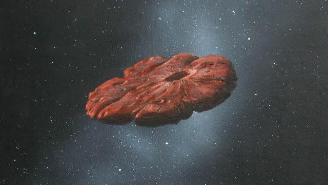 Oumuamua: Το μυστηριώδες αντικείμενο μπορεί να είναι θραύσμα ενός κόσμου που μοιάζει με τον Πλούτωνα - Φωτογραφία 1