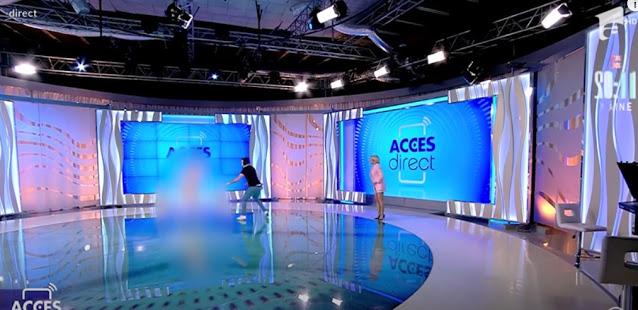 Ρουμανία: Γυμνή βγήκε στον αέρα τηλεοπτικής εκπομπής (Video) - Φωτογραφία 1