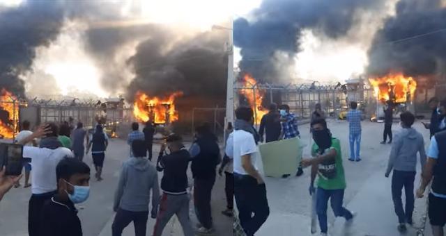 Ένταση με φωτιές μετά την αυτοκτονία πρόσφυγα στο Κέντρο Κράτησης Κορίνθου - Φωτογραφία 1
