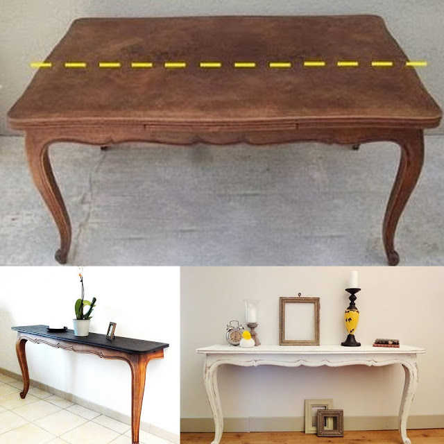 DIY Σταθερά τραπέζια Κονσόλες - Φωτογραφία 3