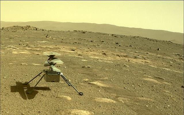 Το drone της NASA στον Άρη κατάφερε να επιζήσει ολομόναχο το βράδυ - Φωτογραφία 1