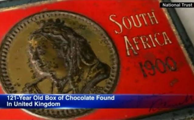 Βρέθηκε σοκολάτα ‑δώρο της βασίλισσας Βικτώριας - Φωτογραφία 1