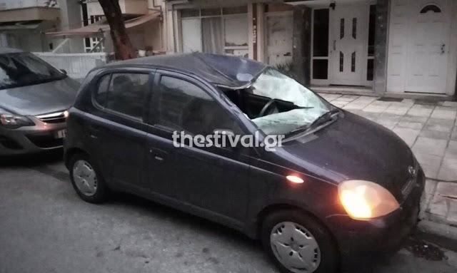 Θρίλερ στη Θεσσαλονίκη: Νεαρός πήδηξε από ταράτσα πολυκατοικίας - Φωτογραφία 1
