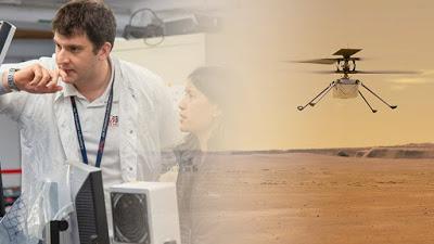 ΕΛΛΗΝΑΣ απογειώνει το ελικόπτερο της NASA πάνω από την επιφάνεια του Άρη - Φωτογραφία 1