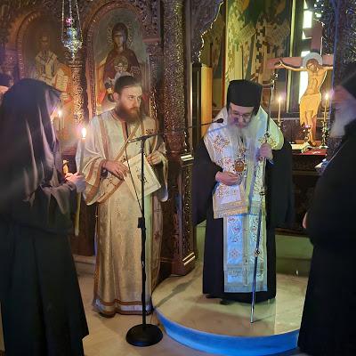 Κουρά Μοναχής στην Ι. Μ. Αγίου Ιλαρίωνος από τον Μητροπολίτη Εδέσσης, Πέλλης και Αλμωπίας κ. Ιωήλ - Φωτογραφία 3